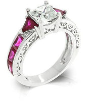 Ruby Red Regal Ring-Rings-Here Comes The Bling™