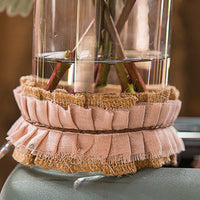Ruffled Jute Ribbon Trim-Decor-Ribbon-Here Comes The Bling™