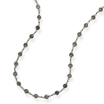 Rutilated Quartz Necklace-Necklaces-Here Comes The Bling™