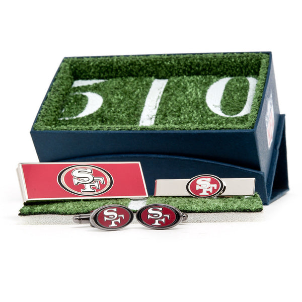 San Francisco 49er's 3-Piece Gift Set-Mens 3 Piece Gift Set-Here Comes The Bling™