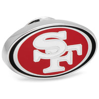 San Francisco 49ers Lapel Pin-Lapel Pin-Here Comes The Bling™