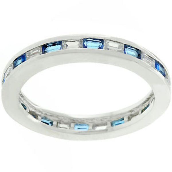 Sapphire Eternity Ring-Rings-Here Comes The Bling