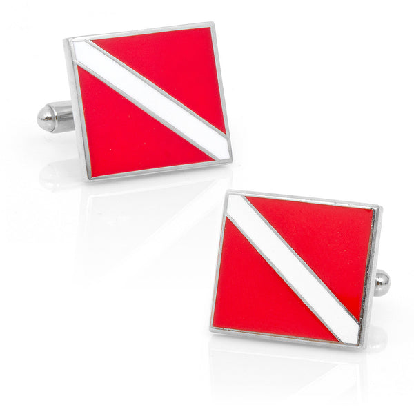 Scuba Diver's Cufflinks-Cufflinks-Here Comes The Bling䋢