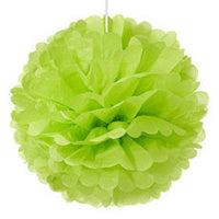 Set of 12 Large Paper Pom-Poms (Available in 6 Colors)-Decor-Hanging-Here Comes The Bling™
