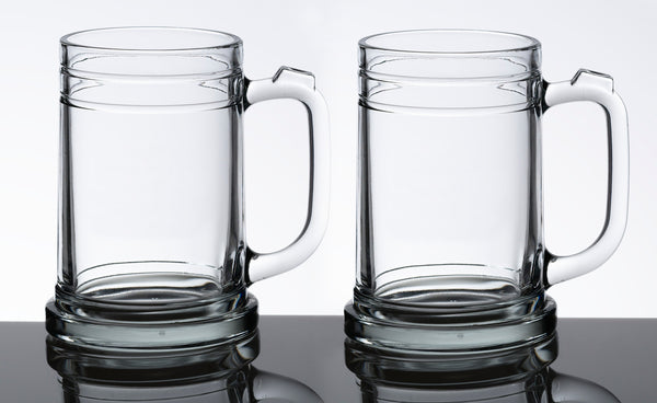 Set of 2 Beer Mugs-Beer Mugs-Here Comes The Bling™