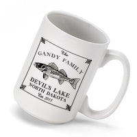 Set of 4 - Personalized Lake House and Cabin Coffee Mugs-Beer Mugs-Here Comes The Bling™