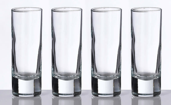 Set of 4 Tall Shot Glasses-Shot Glass-Here Comes The Bling™