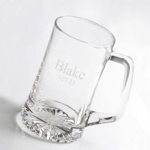 Set of Five 25oz Mugs-Beer Mugs-Here Comes The Bling™