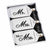 Set/3 Mr. & Mrs. Luggage Tags