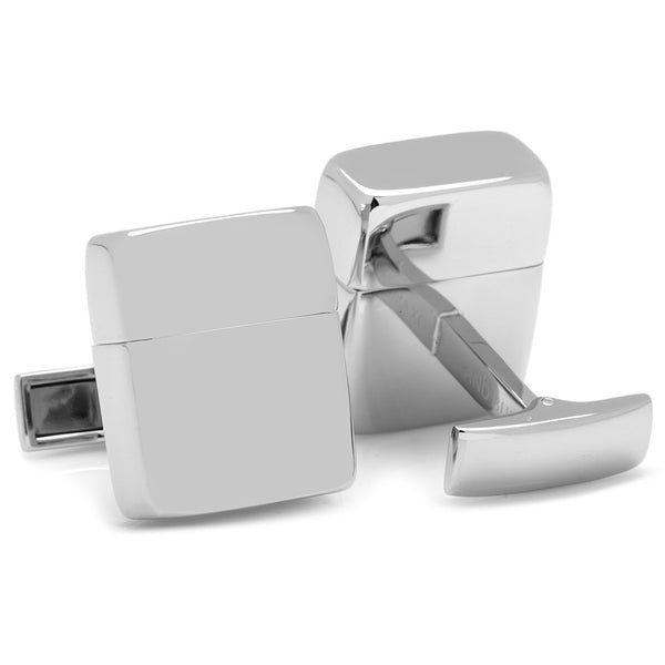 Silver 16GB USB Cufflinks-Cufflinks-Here Comes The Bling™