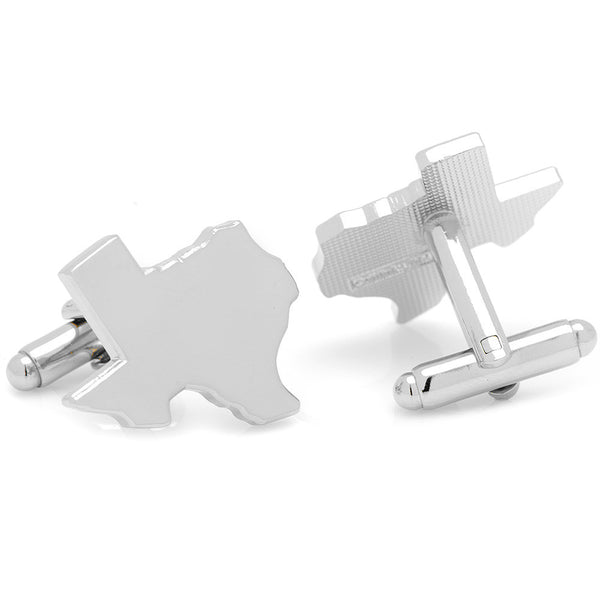 Silver Texas Cufflinks-Cufflinks-Here Comes The Bling‰̣ۡå¢