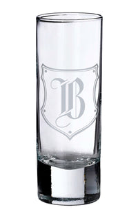 Single Monogramed Shot Glass-Shot Glass-Here Comes The Bling™