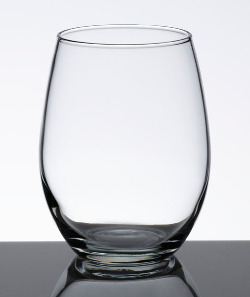 Single Stemless Wine Glass-Stemless Glassware-Here Comes The Bling™
