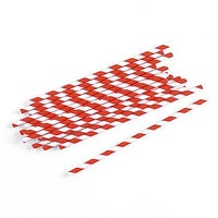 """Sippers"" Candy Striped Paper Straws ( Sold in Packs of 75 )-Decor-Straws-Here Comes The Bling™"