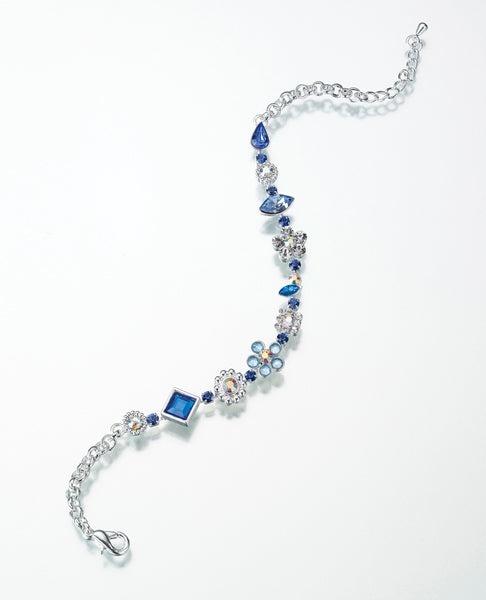 Something Blue Anklet-Anklets-Here Comes The Bling™