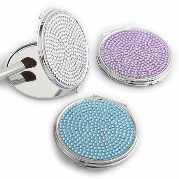 """Somthing Bling"" Mirror Purse Compact-Mirrors-Here Comes The Bling™"