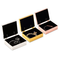 """Sparkle Shine"" Gold Glitter Personalized Jewelry Box (Available in 3 Colors)-Jewelry Box-Here Comes The Bling™"