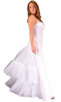"Specialty ""Dress Slip w/ Bustle"" Petticoat-Petticoat-Here Comes The Bling™"