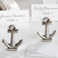 """Nautical"" Anchor Place Card/Photo Holder (Set of 12)"