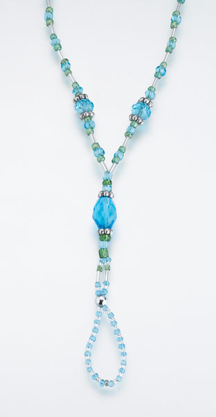 St/2 Bead Foot Jewelry-Aqua-Foot Jewelry-Here Comes The Bling™