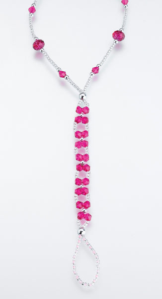 St/2 Bead Foot Jewelry-Hot pink-Foot Jewelry-Here Comes The Bling™