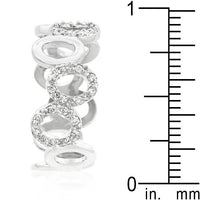 Staggering Hoop Eternity Band-Rings-Here Comes The Bling™
