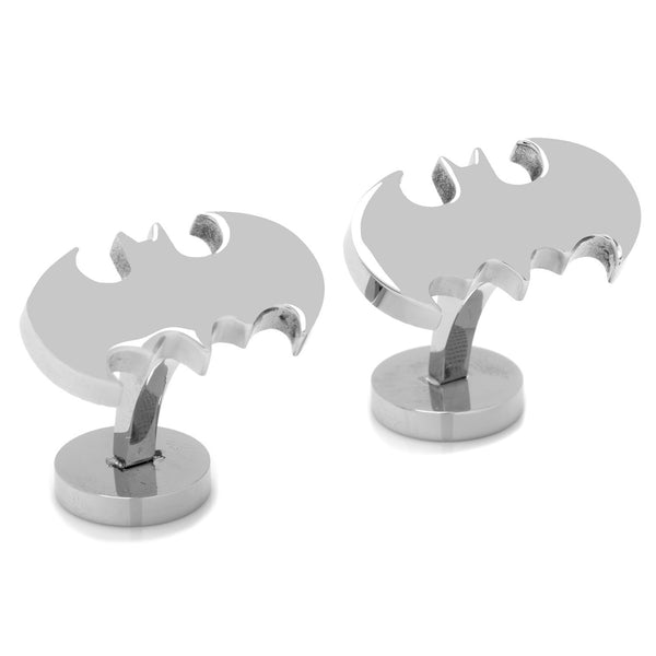 Stainless Steel Classic Batman Cufflinks-Cufflinks-Here Comes The Bling™