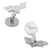 Stainless Steel Dark Knight Cufflinks
