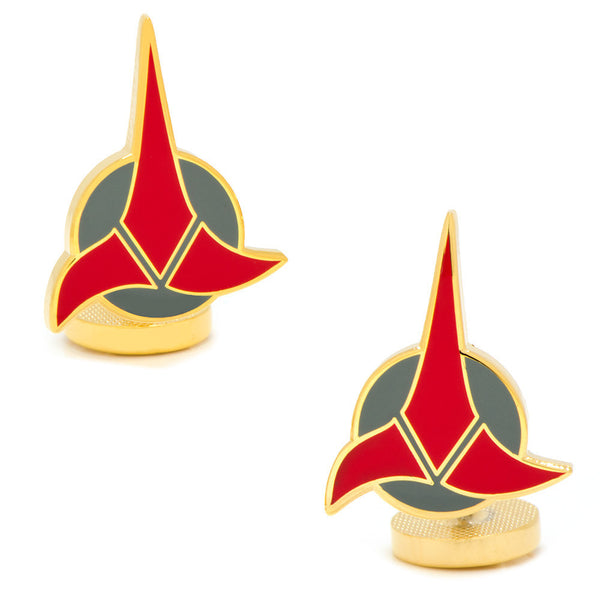 Star Trek Klingon Cufflinks-Cufflinks-Here Comes The Bling™