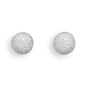 Stardust Ball Post Earrings-Earrings-Here Comes The Bling™