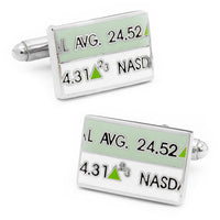 Stock Ticker Cufflinks-Cufflinks-Here Comes The Bling䋢