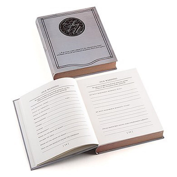"""Story of Us"" Alternative Guest Book and Box-Guest Books-Here Comes The Bling™"