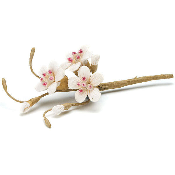 Sugared Cherry Blossom Spray (Pack of 12)