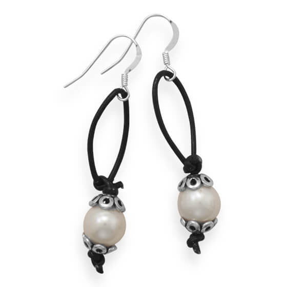 Susie Cultured Freshwater Pearl Earrings-Earrings-Here Comes The Bling™