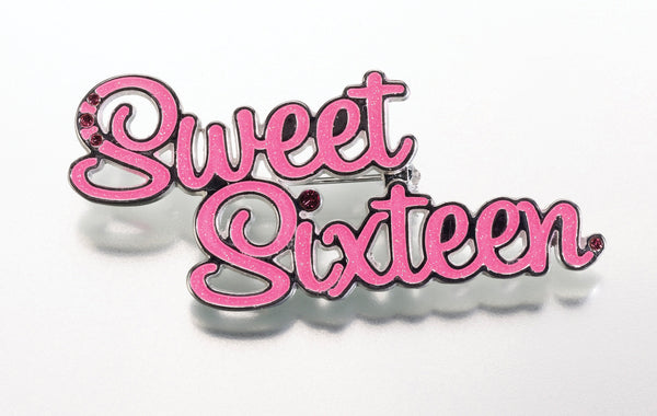 Sweet Sixteen Pin-Pin-Here Comes The Bling™