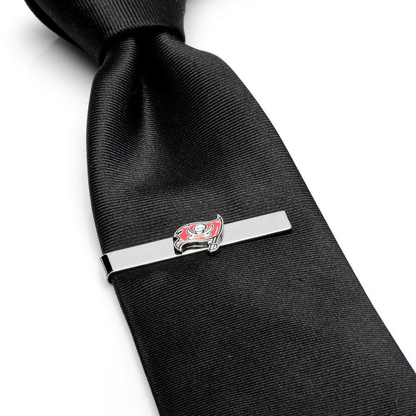Tampa Bay Buccaneers Tie Bar-Tie Bar/Tie Clip-Here Comes The Bling™