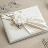 Taupe Rose Guest Book-Guest Books-Here Comes The Bling™