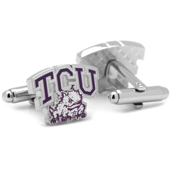 TCU Horned Frog Cufflinks-Cufflinks-Here Comes The Bling™