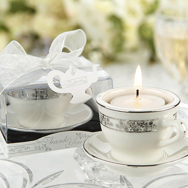 Teacups and Tealights Miniature Porcelain Tealight Holders-Favors-Candle Holders-Here Comes The Bling™