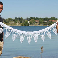"""Thank You"" Lace Felt Banner-Decor-Hanging-Here Comes The Bling™"
