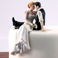 """The Look of Love"" Cake Topper ( Select From 7 Hair Colors )-Cake Toppers-Here Comes The Bling™"