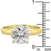Timeless Gold Solitaire Engagement Ring-Rings-Here Comes The Bling™