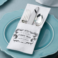 True Love Silverware Holders Set of 4-Decor-Table-Here Comes The Bling™