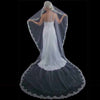 Couture Mantilla Lace Edge Cathedral Bridal Veil