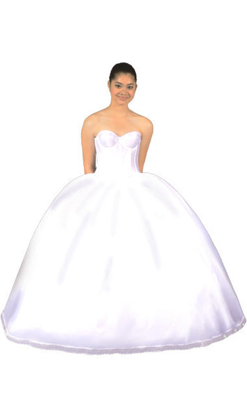 Ultra Full Cinderella/Quinceanera, 5-Layer Petticoat (Drawstring Closure Only)-Petticoat-Here Comes The Bling™