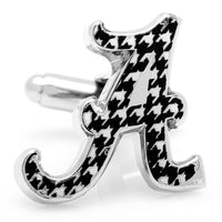 University of Alabama Houndstooth Cufflinks-Cufflinks-Here Comes The Bling™