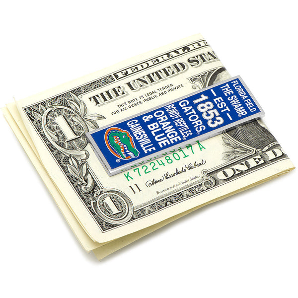 University of Florida Gator Pride Money Clip-Money Clip-Here Comes The Bling™