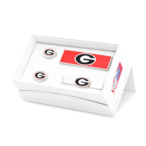 University of Georgia Bulldogs 3-Piece Gift Set-Mens 3 Piece Gift Set-Here Comes The Bling™