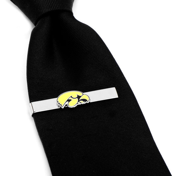University of Iowa Hawkeyes Tie Bar-Tie Bar/Tie Clip-Here Comes The Bling™