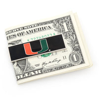 University of Miami Hurricanes Money Clip-Money Clip-Here Comes The Bling™